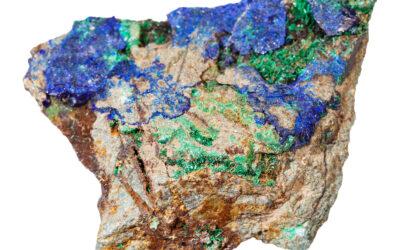 Azurmalachit – kamień zwalczający stan niepokoju
